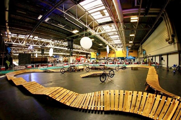Pump track at the 2019 Cycle Show