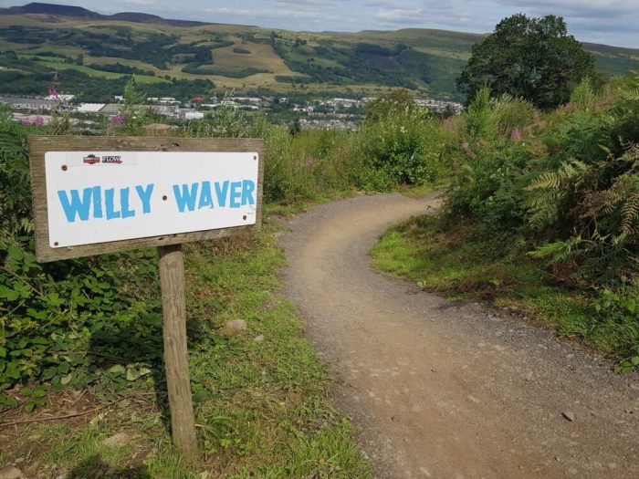 Willy Waver at Bike Park Wales