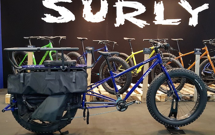 family cargo bikes at the 2019 Cycle Show - Surly Big Fat Dummy