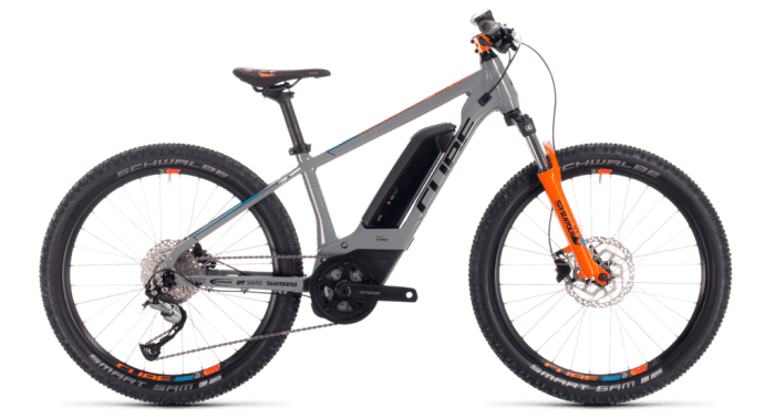 Cube Acid 240 Hybrid Youth from the Cube 2020 kids bike range
