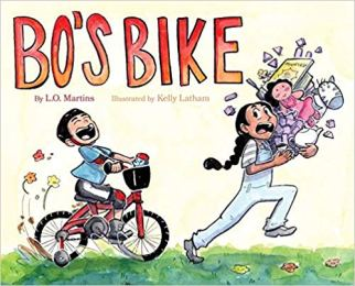 Bos Bike - picture book about cycling