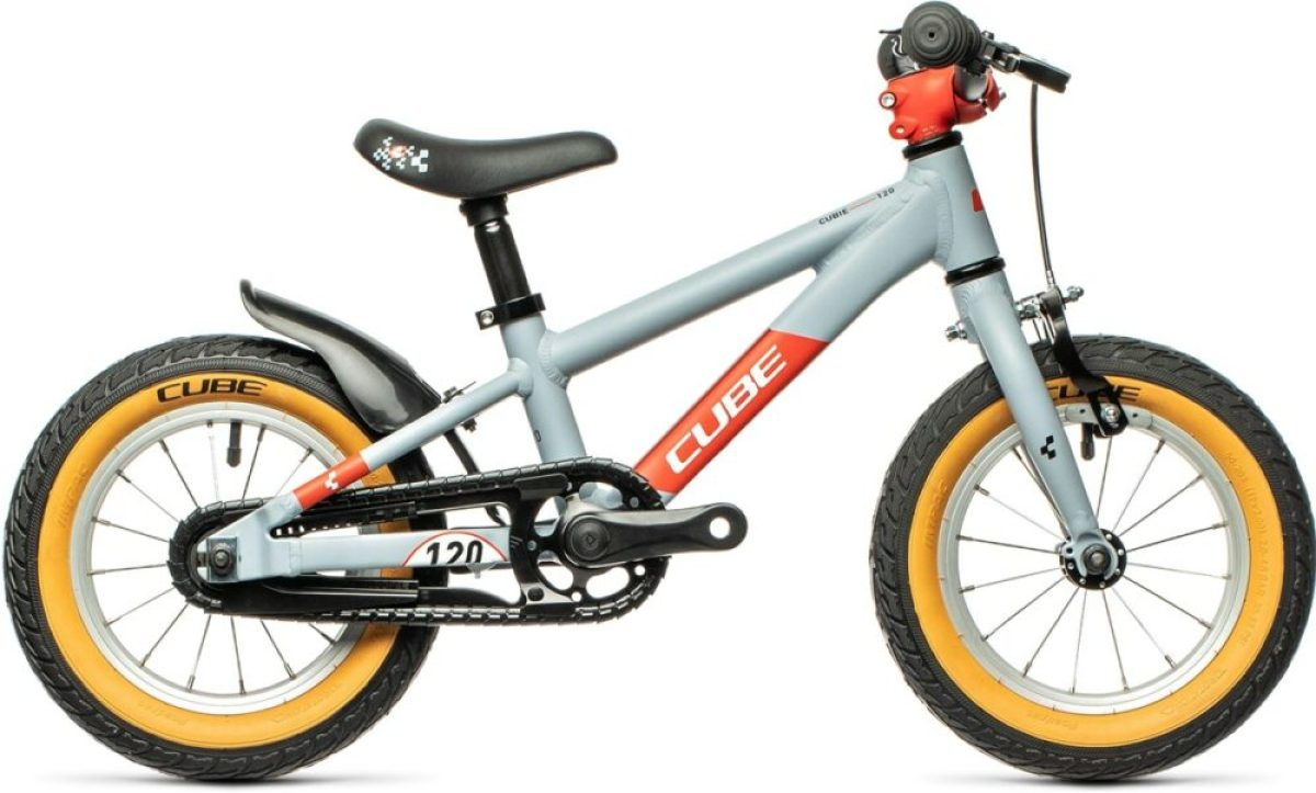 "The Cube Cubie 120 is one of the smallest kids pedal bikes available in 2021 - with 12"" wheels and a rear coaster brake it's ideal for kids aged 3 years and over"