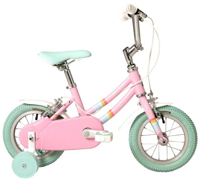 The Raleigh Pop 12 is a small pedal bike for children aged 3 years and over
