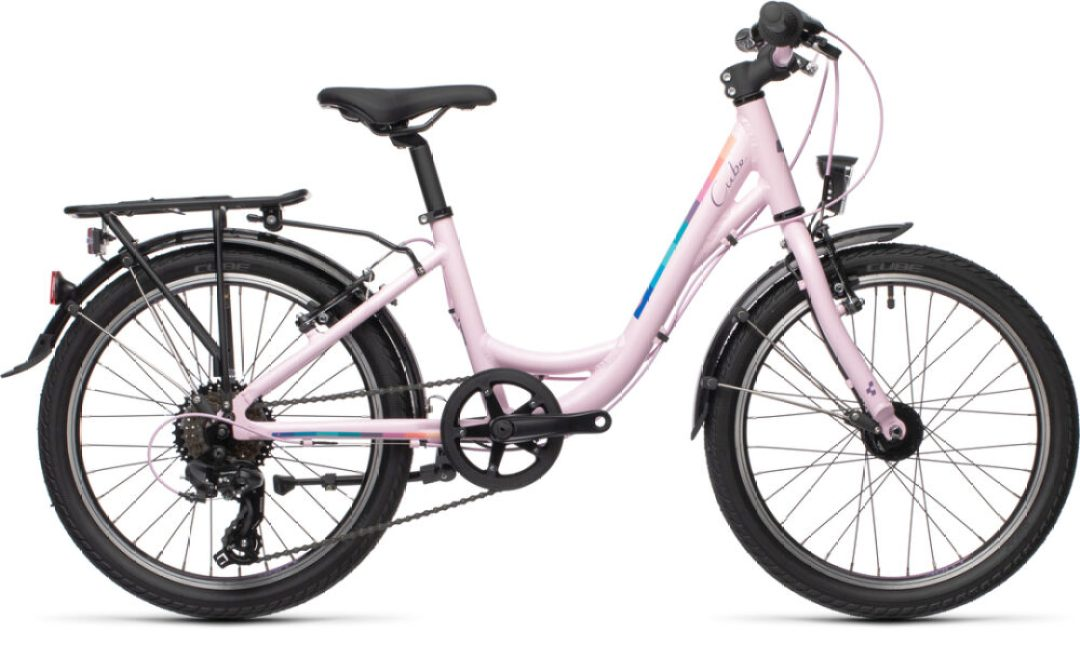 2020 model of the Cube Ella 200, step through city bike for girls aged 6 years old
