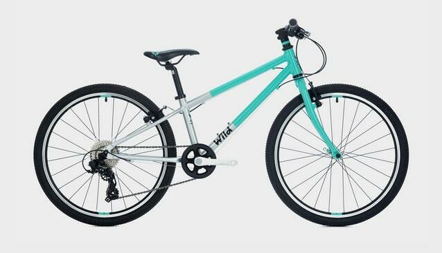 The Wild 24 kids bike is a great value bicycle for children aged 7 years and over. Suitable for girls and boys who want to have fun cycling both on and off road
