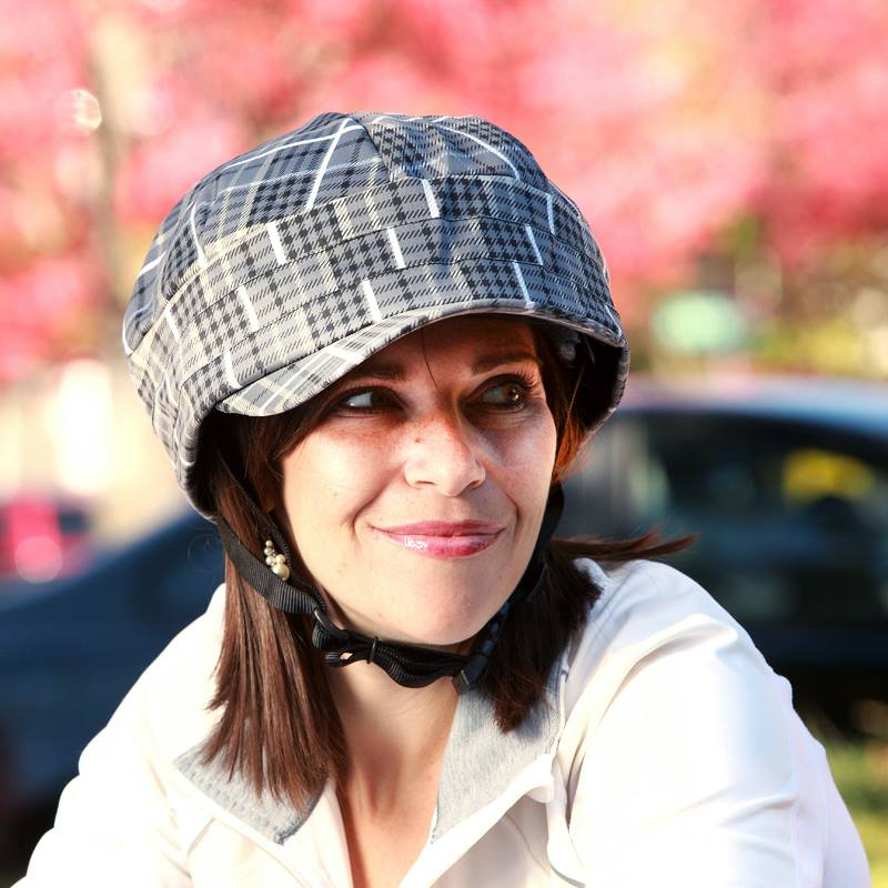Rayne Water Resistant Bicycle Helmet Cover by RockiNoggins