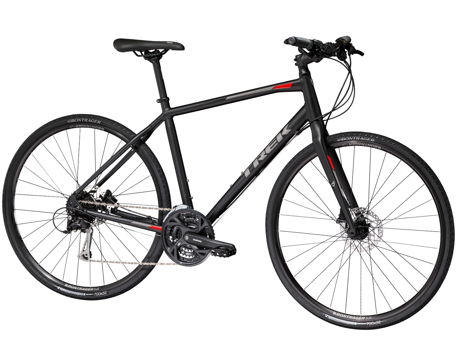 Trek Fx 3 Disc 2019 Hybrid Bike Black £520.00