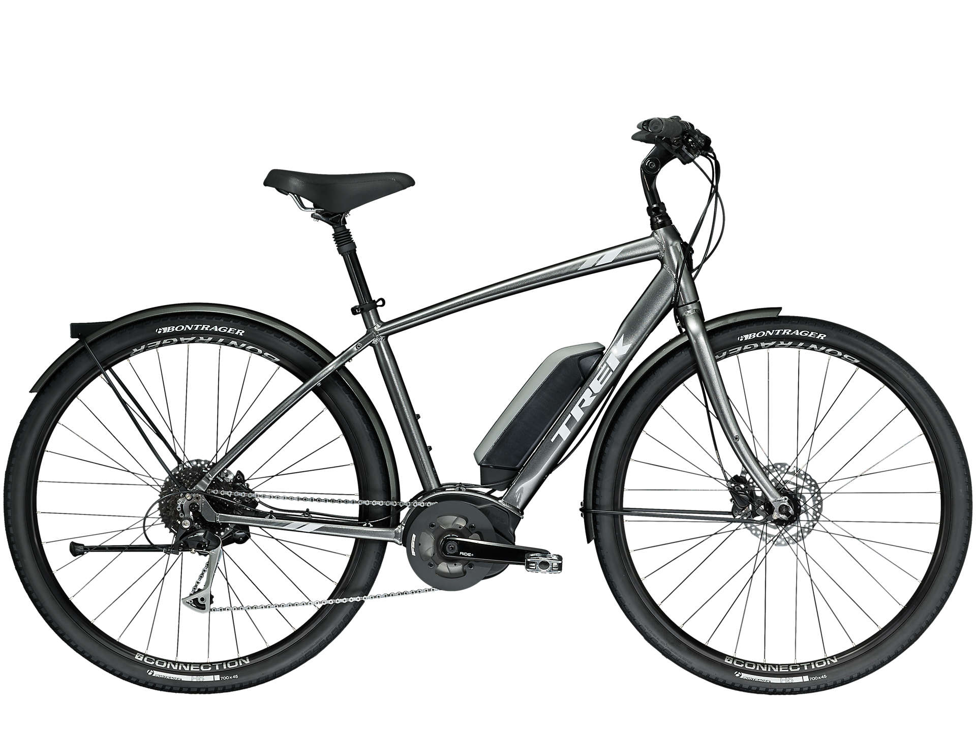 Trek Verve + Plus 2019 Electric Hybrid Bike Silver £2,000.00