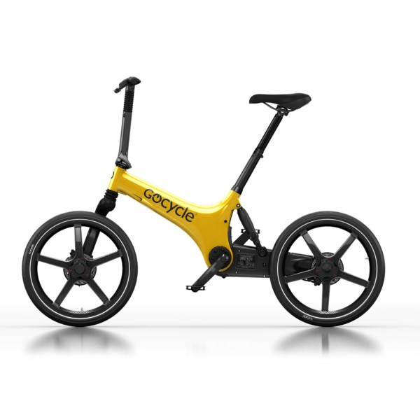 Gocycle G3C Limited Edition Yellow