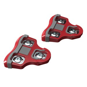 bePRO Red cleats 6° float