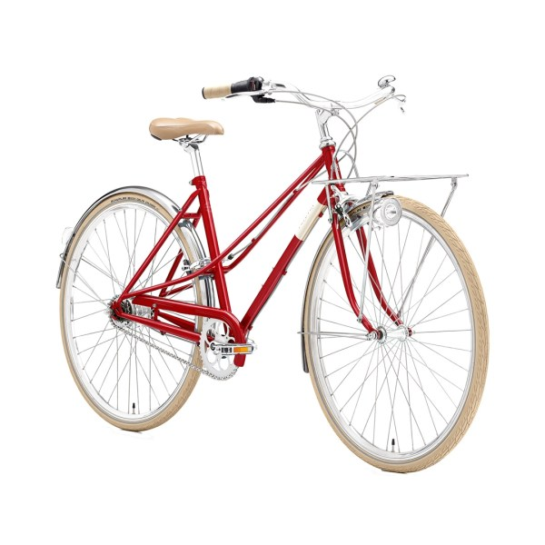 Creme Caferacer Lady Solo red 7 speed