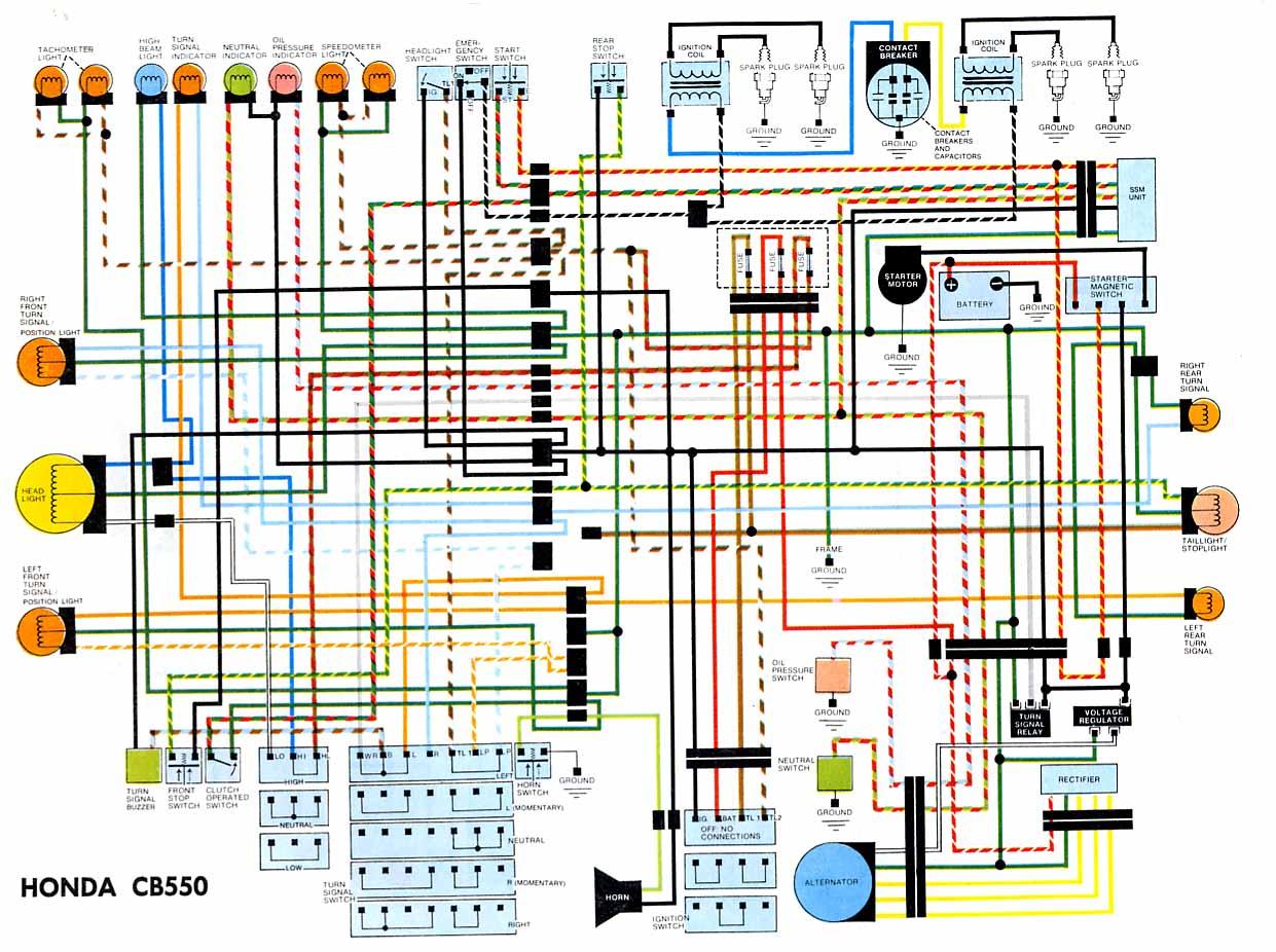 Honda CB550 Electrical Wiring Diagram?resize=640%2C478 honda motorcycle wiring diagram symbols hobbiesxstyle honda motorcycle wiring diagrams at fashall.co