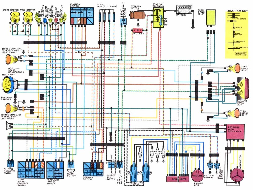 medium resolution of motorcycle wiring diagrams gsxr 1100 wiring diagram gs850 wiring diagram