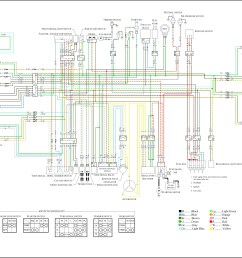 motorcycle wiring schematic diagram [ 3200 x 2231 Pixel ]