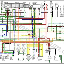 Honda Wave Motorcycle Wiring Diagram Automobile Great Installation Of Diagrams Rh Cycleterminal Com