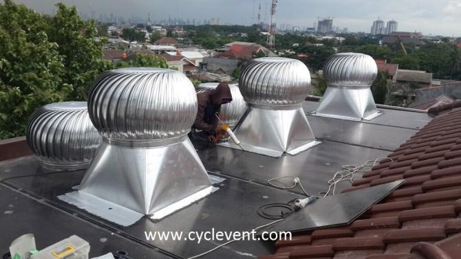 jual turbine ventilator dan harga ventilator
