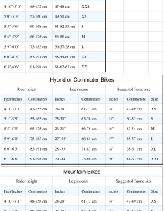 Click here for  general guide to select bike size based on your height and sex also electra townie  trail rh latrail
