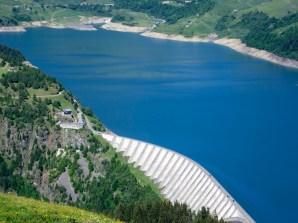 Dam well below
