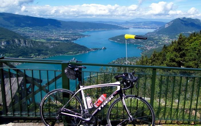 Lake Annecy - view from Col de la Forclaz de Montmin