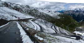 Stelvio: Snow in July