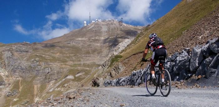 Above Tourmalet.  Pic du Midi high above.