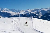 Self Portrait - Col de Joux Plane XC Skiing