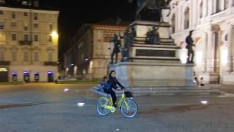 Torino at night