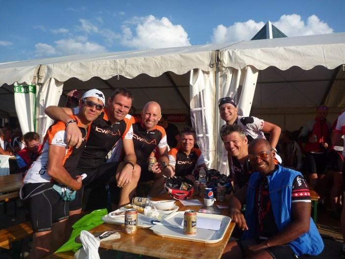 Alpe d'Huez after La Marmotte with La Côte Wheelers