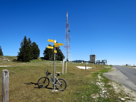 High Point of Road at the Swisscom Tower