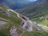 Hairpins above Plan Lachat