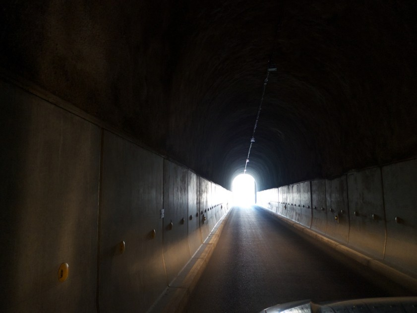 The Galibier Tunnel