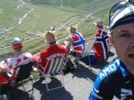 Plan Lachat Below. TdF with Norwegian fans