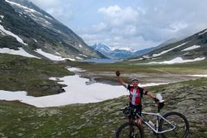 Near the Col, above lac de Savine