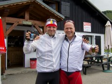Joux Plane with Markus