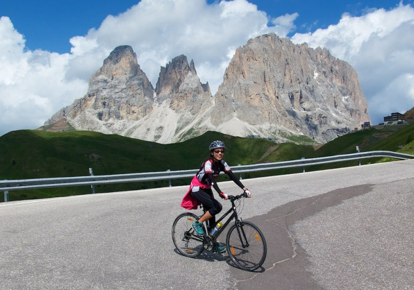 Doreen and Passo Sella