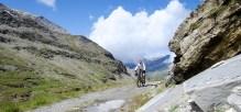 Approaching Col du fréjus