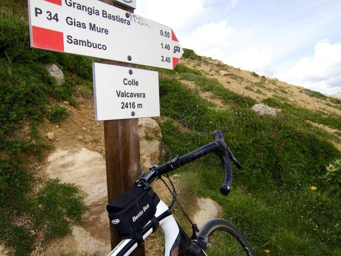 Colle Valcavera - 2416 metres