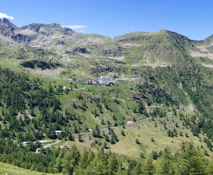 Road up to Santuario Sant'Anna