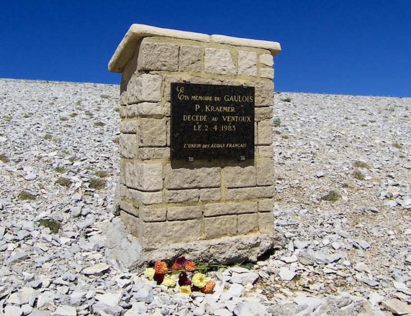 above Simpson Monument - P- Kraemer Memorial