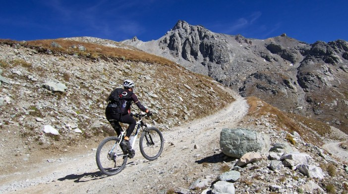 Approaching Colle del Sommeiller
