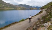 unpaved road beside Lago di Narèt