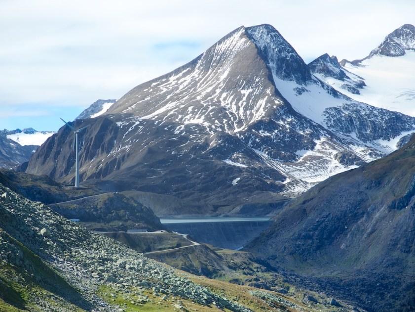 Nice Lake/Dam and Glacier