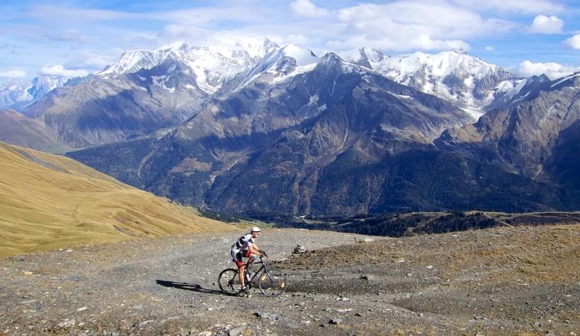 High Col du Joly, hard work