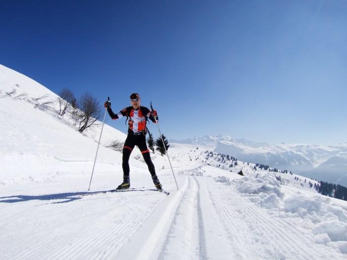 Rented XC Ski at Summit