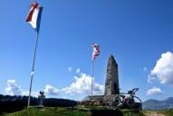 USA/France WW2 memorial at Saisies