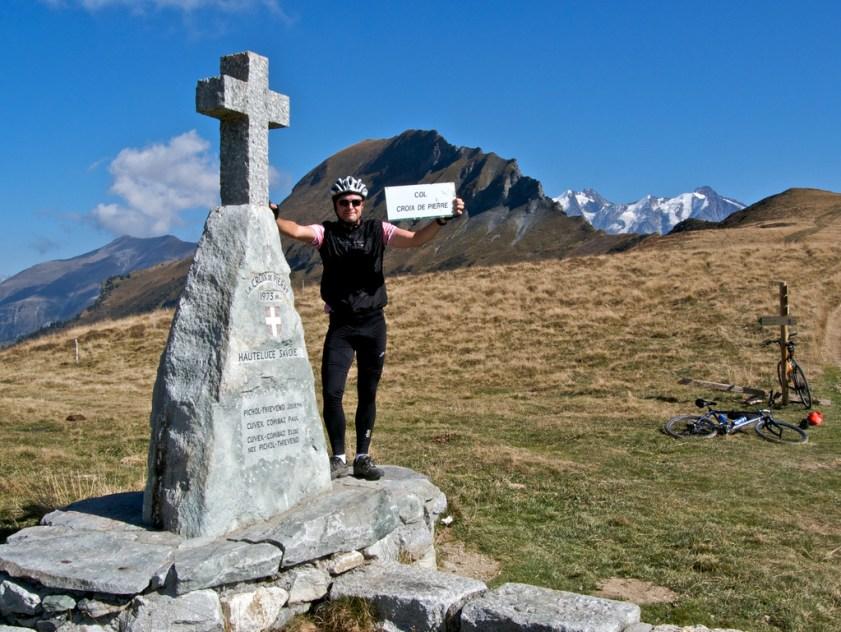 Col Croix de Pierre - No sign, brought my own