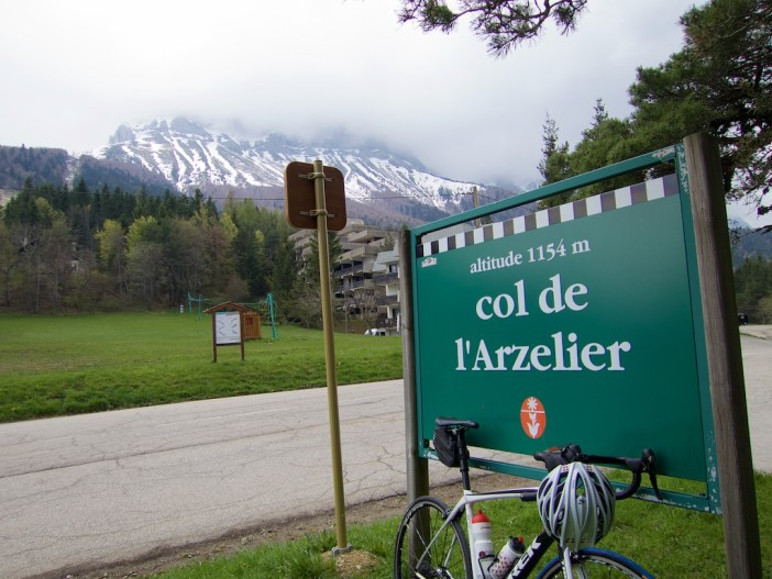 A Nice Vercors Style  Col Sign