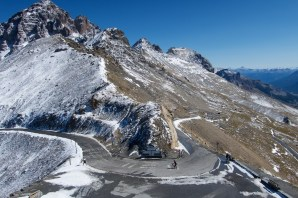 Galibier above the tunnel