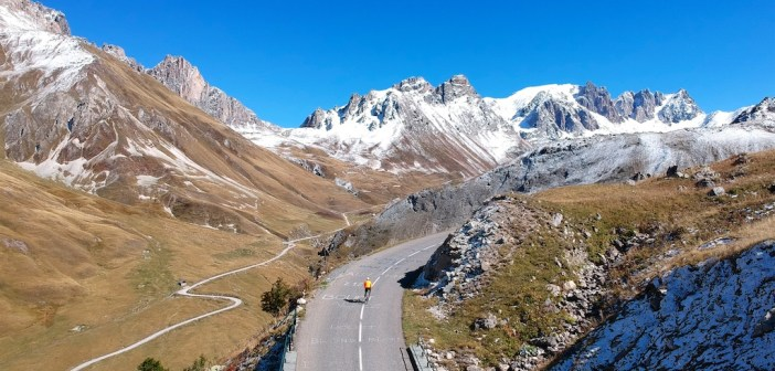 Col du Galibier – (drone pics and some snow)