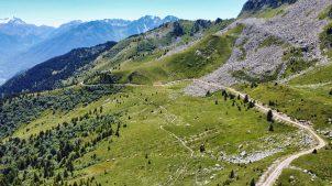 Gravel route to Madeleine